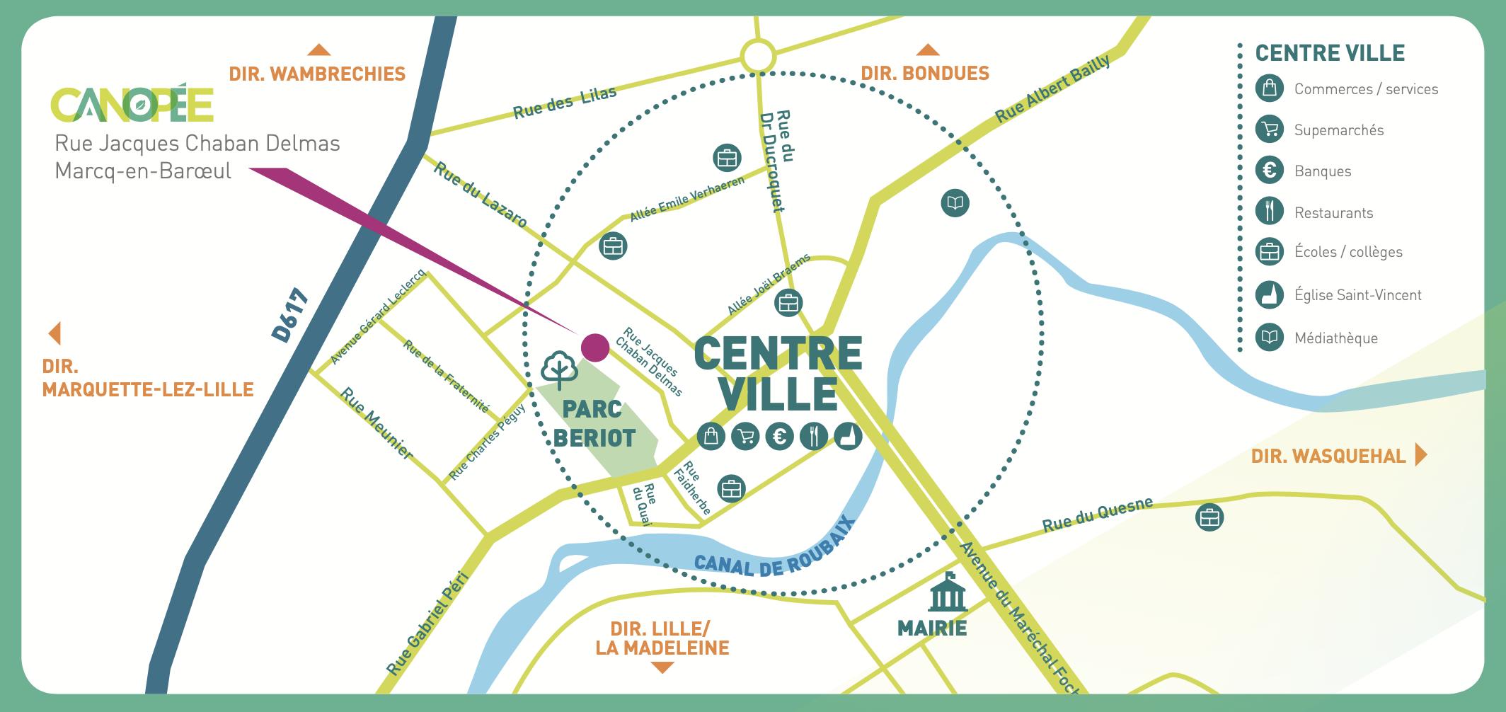Google Map : CANOPÉE